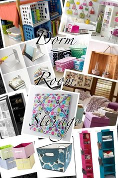 Hints to the best dorm storage