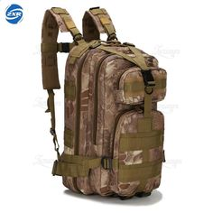 1e7274b59 Al aire libre Tactical Hombres Mujeres Ejército Militar Mochila Trekking  Viajes Acampar Senderismo Mochilas Trekking Camuflaje