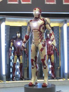 Iron Man 3: Marvel presentó la nueva armadura que usará Tony Stark