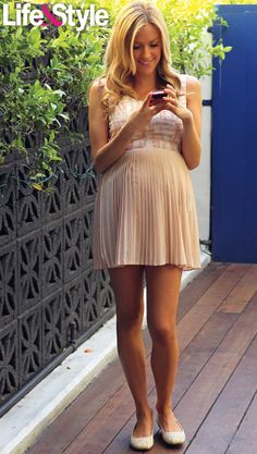 cute pregnancy style