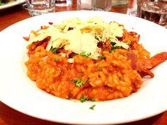 レシピとお料理がひらめくSnapDish - 4件のもぐもぐ - Spicy prawn and chorizo risotto by my:)