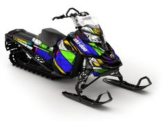 We can't get enough of the new Ski-doo wraps...very sexy sleds
