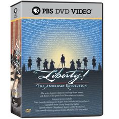 The American Revolution DVD series: brings the people, events, and ideas of the revolution to life through dramatic reenactments. Revolutionary War Movies, Terrence Mann, High School American History, Liberty Kids, George Foster, Nicholas Nickleby, Movie Guide, Trivia Quiz, Movie Trivia