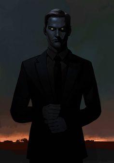 The Darkman, Brian Matyas on ArtStation at https://www.artstation.com/artwork/5YE6E