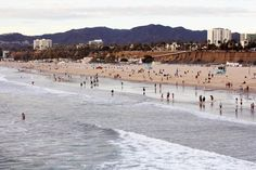 The perfect way to do a staycation is by relaxing at #SantaMonicaBeach.. #California #vacation