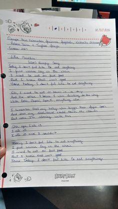 Letra da paródia de inglês (Not) Hungry Song