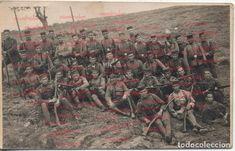 Fotografía antigua regimiento 21 Guerra del Rif Guerra de Marruecos Guerra de Africa - Foto 1
