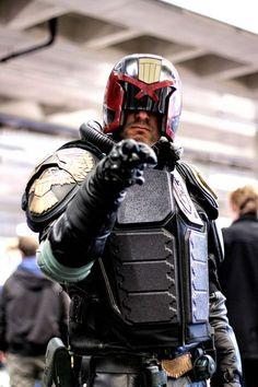 Judge Dredd cosplay