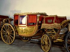 Royal Horse Carriage With Horses