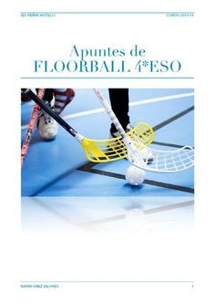 Floorball 4 º ESO. Naira Sanz Vilches
