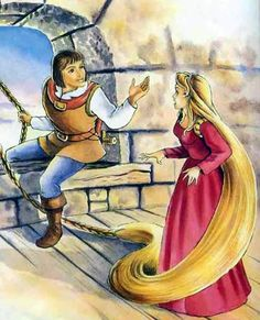 Rapunzel - Fairy tale by The Brothers Grimm