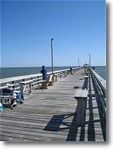 Lets take a walk down the Oak Island Pier.  Welcome To Oak Island, NC!