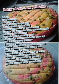 Butter cheese cake Cake Receipe, Easy Vanilla Cake Recipe, Easy Cake Recipes, Baking Recipes, Snack Recipes, Resepi Butter Cake, Cake Cookies, Cupcake Cakes, Cake Oven