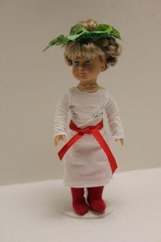 Mini Kirsten's St Lucias Outfit by PrairieWindGirls on Etsy