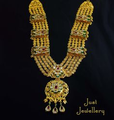A Gold Necklace !  Price - 28,500 /-  Place your order by sending us an email to justjewellery08@gmail.com