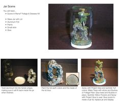 Make your very own diorama in a jar!