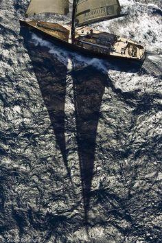 ♂ Life by the sea #boat #ocean #shadow