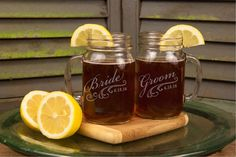Hey, I found this really awesome Etsy listing at https://www.etsy.com/listing/462845630/toasting-glasses-mason-jar-rustic