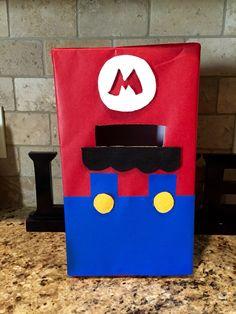 DIY Mario Valentine Box