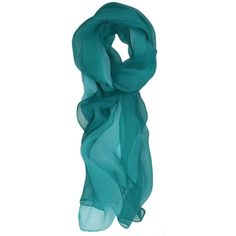 Ted and Jack Silk Ombre Lightweight Accent Scarf ($12) ❤ liked on Polyvore featuring accessories and scarves
