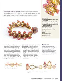 Beadwork quickeasy oct nov 2011 by Carmen Maldonado
