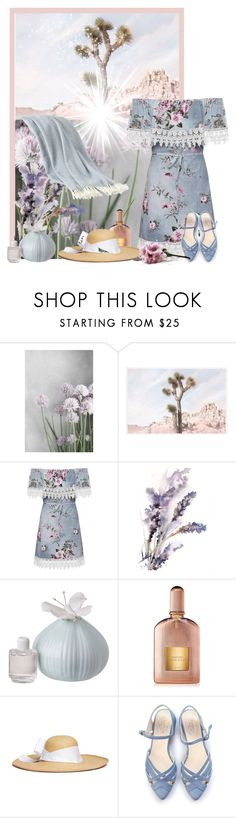 """""""Untitled #2593"""" by tina-teena ❤ liked on Polyvore featuring Pottery Barn, WearAll, Tom Ford and Sensi Studio"""