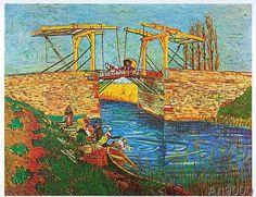 Vincent van Gogh - Brücke von Arles