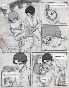 Attack on titan mpreg part 1 Ereri, Birth Manga, Mpreg Stories, Mpreg Anime, Captain Levi, Levi X Eren, Thranduil, Anime Demon, Phan