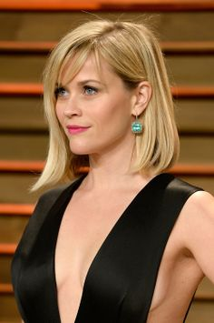 reese witherspoon bob cute hair oscar blonde