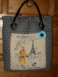 """Les Brodeuses Parisiennes, ''Un jour a Paris en hiver"""""""