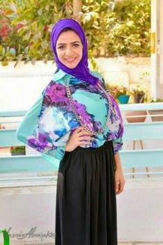 Casual hijab by Lady Fashion open day   Just Trendy Girls