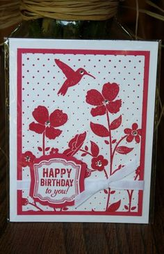 Stampin' Up! Wildflower Meadow/Label Love card by Stampoint