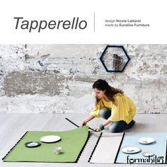 #modular #rug: https://www.formabilio.com/shop/home-accessories/rugs/tapperello-modular