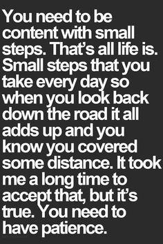 ...steps