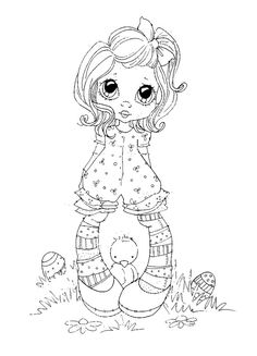 sherri baldy my besties Coloring Book Pages, Coloring Sheets, Coloring Pages For Kids, Creation Art, Copics, Digital Stamps, Printable Coloring, Big Eyes, Colorful Pictures
