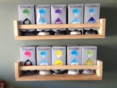 Tassimo storage Étagères à épices ikea