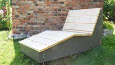 Snickra en solbänk för sommarens lataste dagar   Bygga och bo   svenska.yle.fi Outdoor Furniture, Outdoor Decor, Outdoor Storage, Sun Lounger, Bench, Garden, Design, Home Decor, Chaise Longue