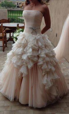 Beautiful Mark Zunino Size Used Wedding Dresses