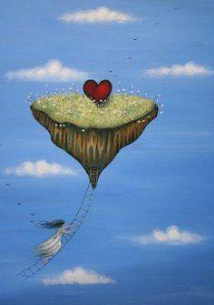"""Ame.   No tenga miedo de perder.   Que """"perder"""" bajo cualquier contexto   no es más que otra forma de ganar. Vivi Cervera a través de Facebook.   ________________  Ilustr. Amanda Cass —"""