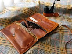 pipe pouch leather pattern - Google Search