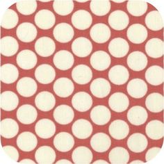 Amy Butler - Full Moon Polka Dot in Cherry Amy Butler, Full Moon, Cherry, Polka Dots, Fabric, Harvest Moon, Tejido, Tela, Cloths