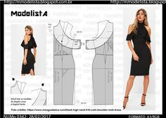 Amazing Sewing Patterns Clone Your Clothes Ideas. Enchanting Sewing Patterns Clone Your Clothes Ideas. Sewing Dress, Diy Dress, Sewing Clothes, Fabric Sewing, Diy Clothing, Clothing Patterns, Dress Patterns, Fashion Sewing, Diy Fashion