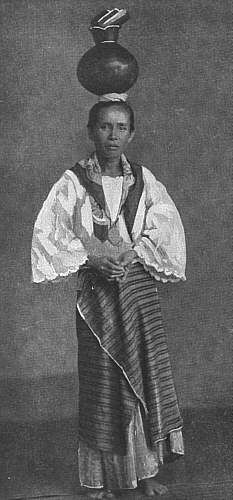 Picturesque Old Philippines: Womens Fashion