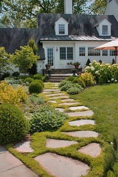 Farmhouse Landscaping Front Yard 99 Gorgeous Photos (16) #landscapingfrontyard #LandscapingFrontYard