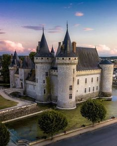 """Castles and Palaces on Instagram: """"Château de Sully-sur-Loire, France. The first references in documentation defines a """"castrum soliacense"""" in 1102. A widely documented…"""" Palace, Cathedral, Castle, France, Palaces, French, Cathedrals, Mansion, Ely Cathedral"""
