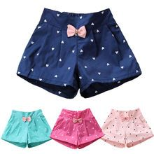 2019 New Candy Color Baby girls shorts Print children shorts kids shorts for girls clothes toddler girl clothing for Short Niña, Short Girls, Toddler Girl Outfits, Kids Outfits, Cotton Frocks For Kids, Cute Bows, Kids Shorts, Printed Shorts, Everyday Fashion