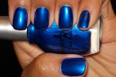 Interview with THE Ariana Pierce of SuperStar Nail Lacquer - Color: Ambitious Blue by www.superstarnaillacquer.com