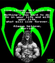 46 Best Warrior Quotes images | Warrior quotes, Wwe quotes ...