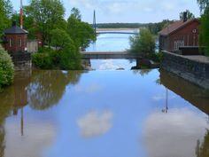 Vantaa river at old town, Helsinki