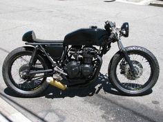 1975 Honda CB400400FOUR Cafe Racer! All Black!